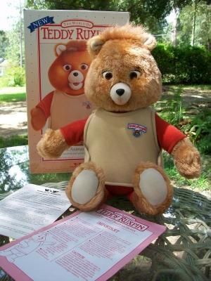 1990 Teddy Ruxpin remember him ?! Lol by lora