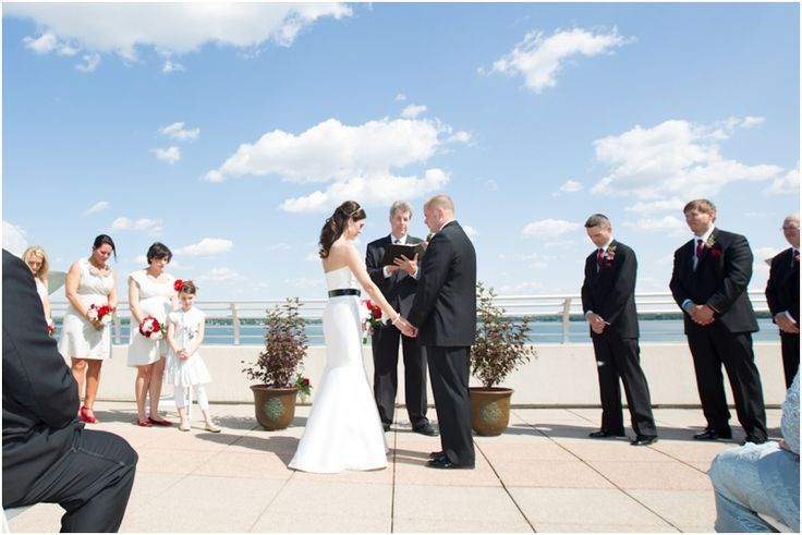 The Monona Terrace rooftop was the perfect backdrop for Brandy and Ryan's beautiful, unique wedding ceremony and reception!