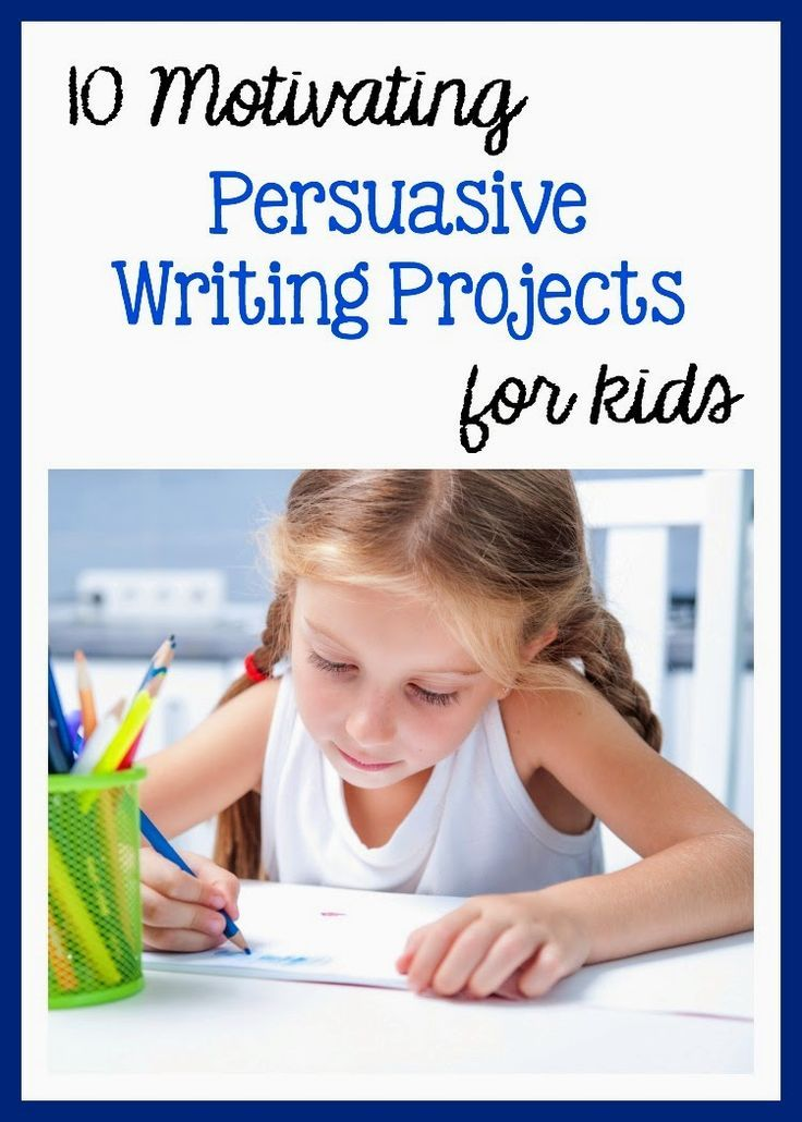 meaningful persuasive writing projects for k