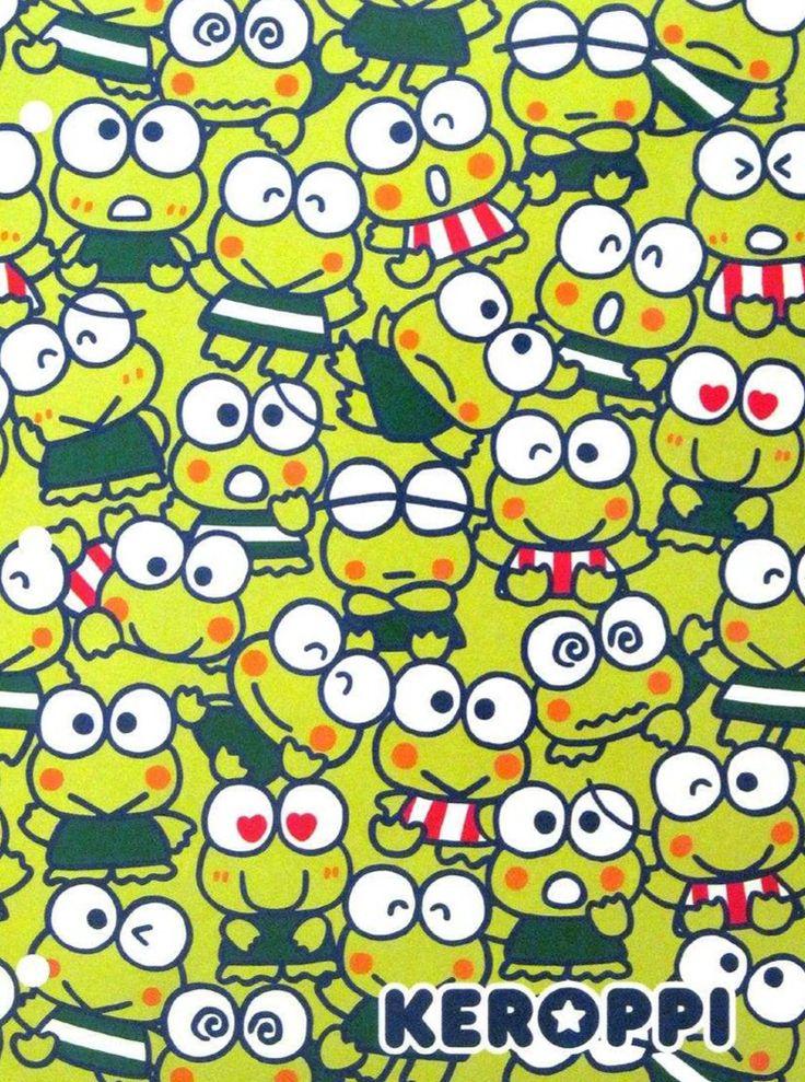 Keroppi   KEROKEROKEROPPI   Sanrio, Hello kitty wallpaper ...