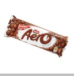 Aero bars by Nestle are a wonderful chocolate bar infused with tiny air bubbles.  Delicious.
