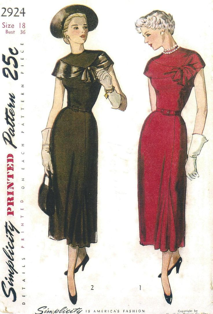 Vintage clothes fashion ads of the 1940s page 22 - Find This Pin And More On Vintage Patterns Sewing
