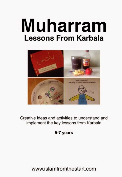 Bringing together all our Muharram activities  in one instant download!             What's inside?      Simple activities and crafts to int...