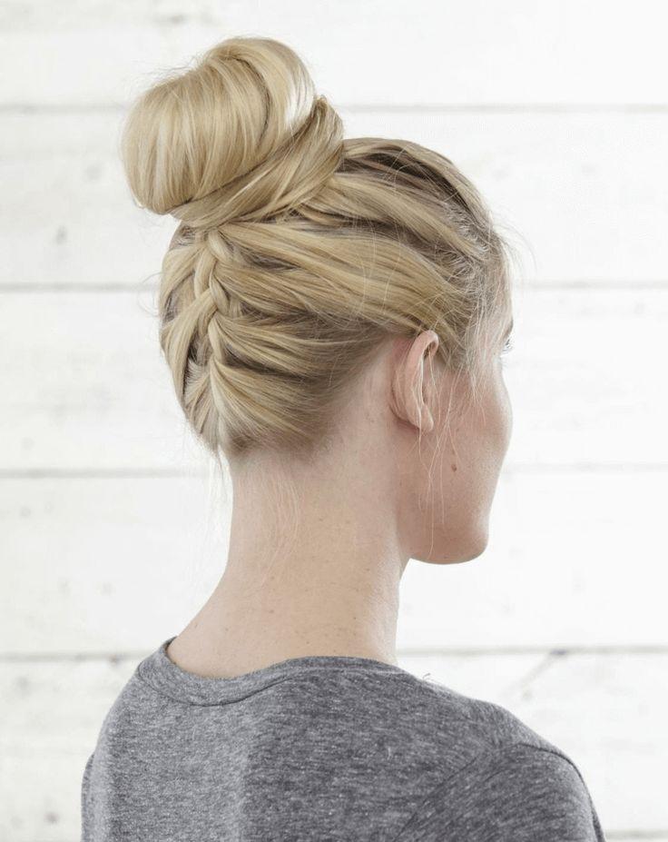 Dutt lange dunne haare