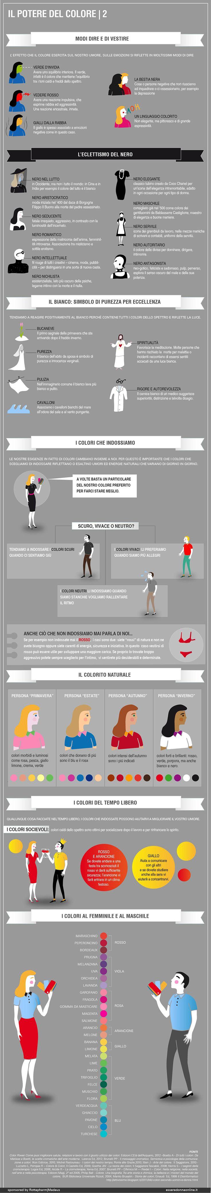 Il potere del colore: Modi di dire e di vestire - esseredonnaonline