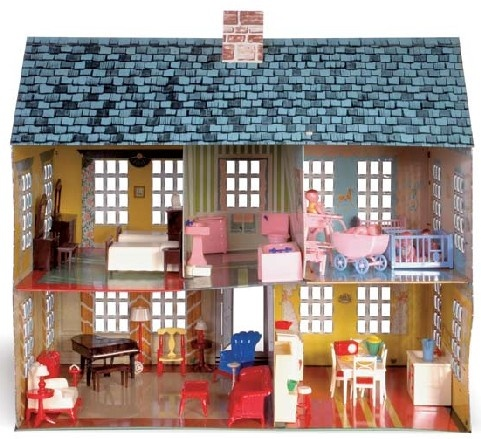17 Best Images About Dollhouses On Pinterest Toys Vintage Dollhouse And Dollhouses