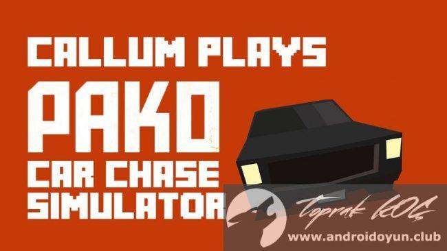 Pako Car Chase Simulator v1.0.3.9 MOD APK - PARA HİLELİ - http://androidoyun.club/2016/07/pako-car-chase-simulator-v1-0-3-9-mod-apk-para-hileli.html