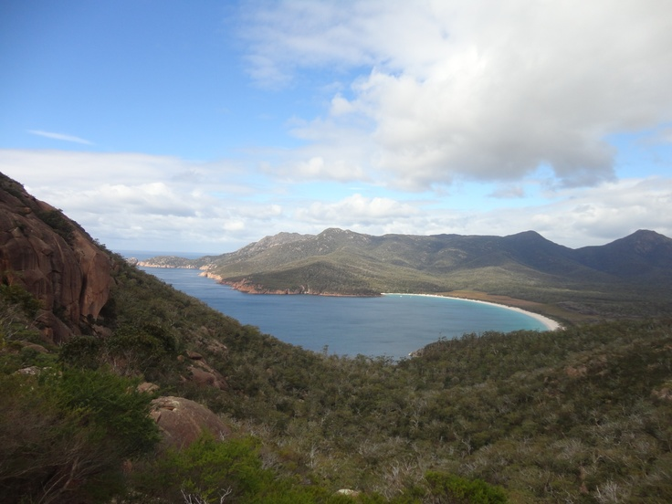 Wineglass bay - one of the most beautiful beaches in the world