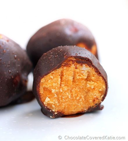 Pumpkin Fudge Balls