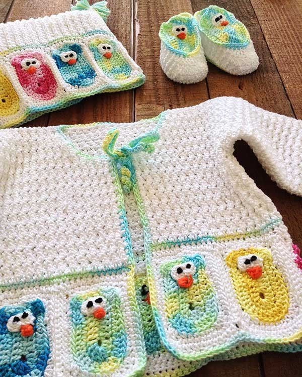 19 mejores imágenes de Crochet Patterns - Baby en Pinterest ...