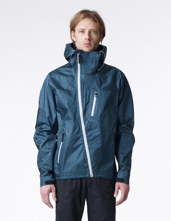 Dope technical jacket--dk. green///isaora