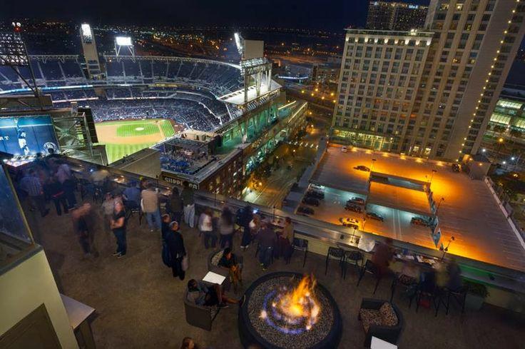"""SanDiegoVille.com: San Diego Marriott Gaslamp Quarter Introduces """"Eat-Drink-Park"""" Offer for Padres Fans"""