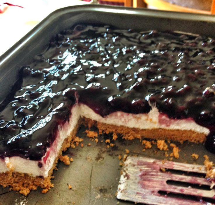 Blueberry Cake Cream Cheese Cool Whip