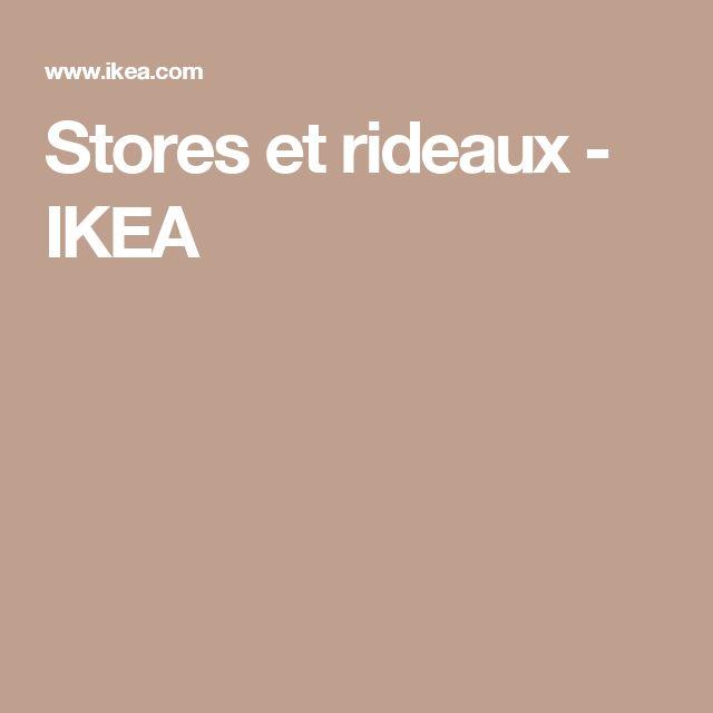 17 meilleures id es propos de stores et rideaux sur pinterest stores en bois blanc rideaux. Black Bedroom Furniture Sets. Home Design Ideas
