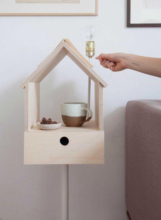 Birdhouse, Table De Chevet Multifonctions Par Siebring U0026 Zoetmulder