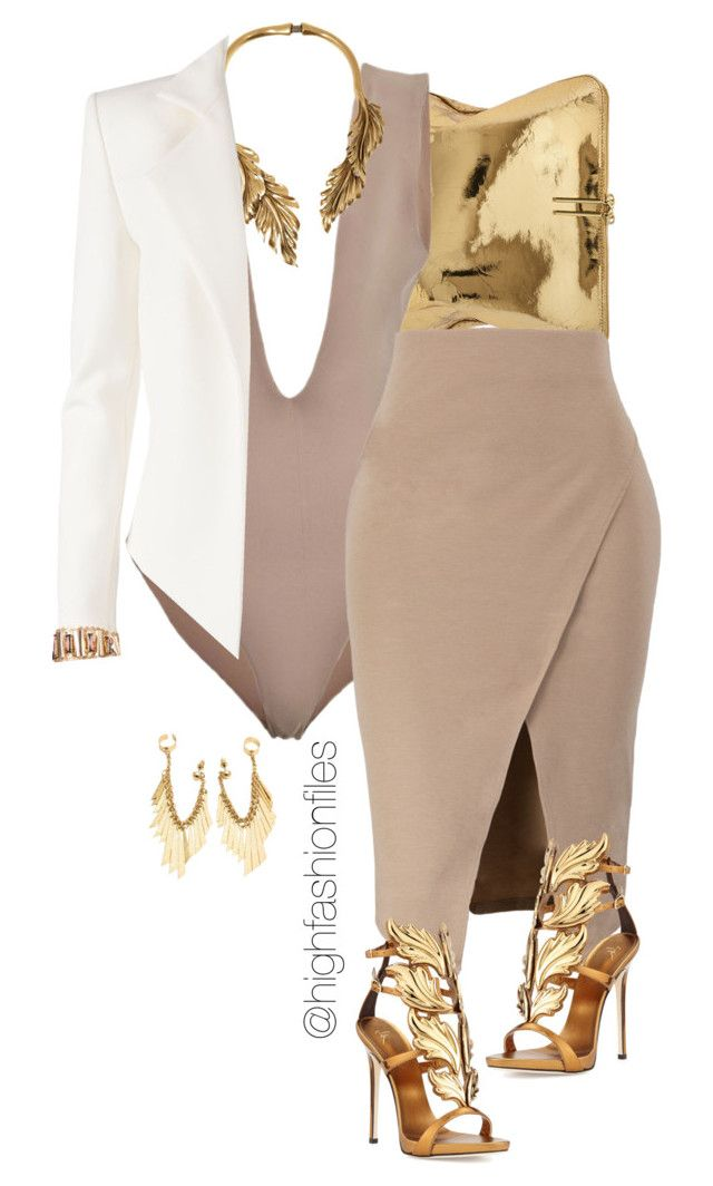 """""""Levels"""" by highfashionfiles ❤ liked on Polyvore featuring 3.1 Phillip Lim, Oscar de la Renta, Giuseppe Zanotti and Alexandre Vauthier"""