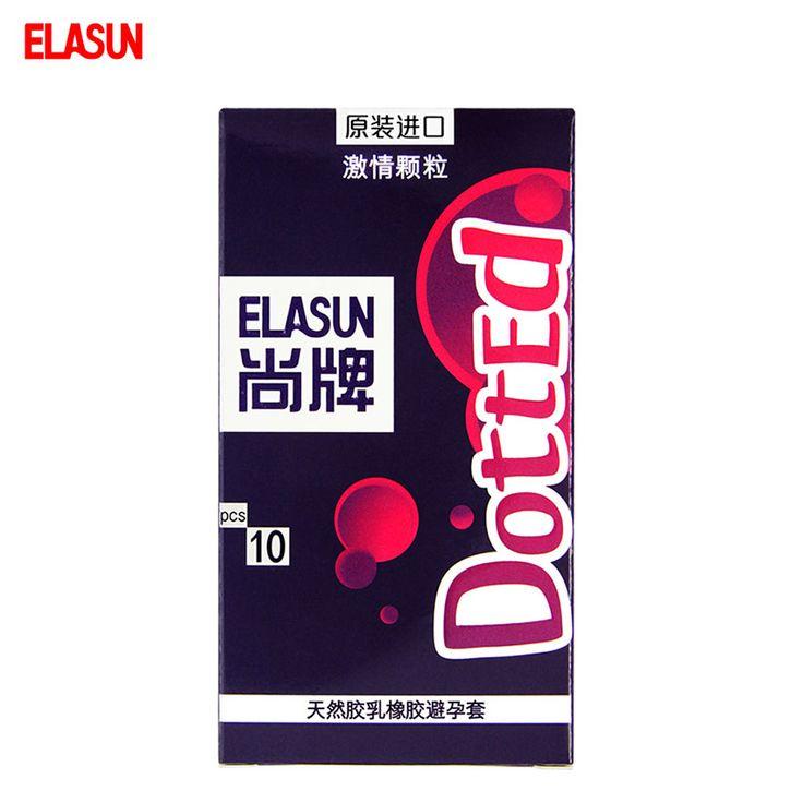 Elasun 10 sztuk przerywana plus cząstek bezbarwna przezroczysta naturalnej gumy lateksowej prezerwatywy prezerwatywy pasja