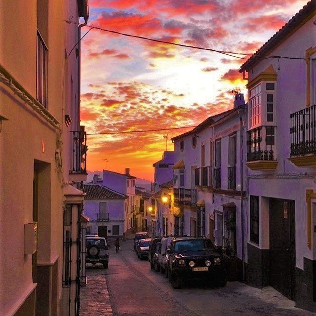What do I miss most about Spain? Hard to say but the views are definitely near the top! #spain #sunset #andalucia
