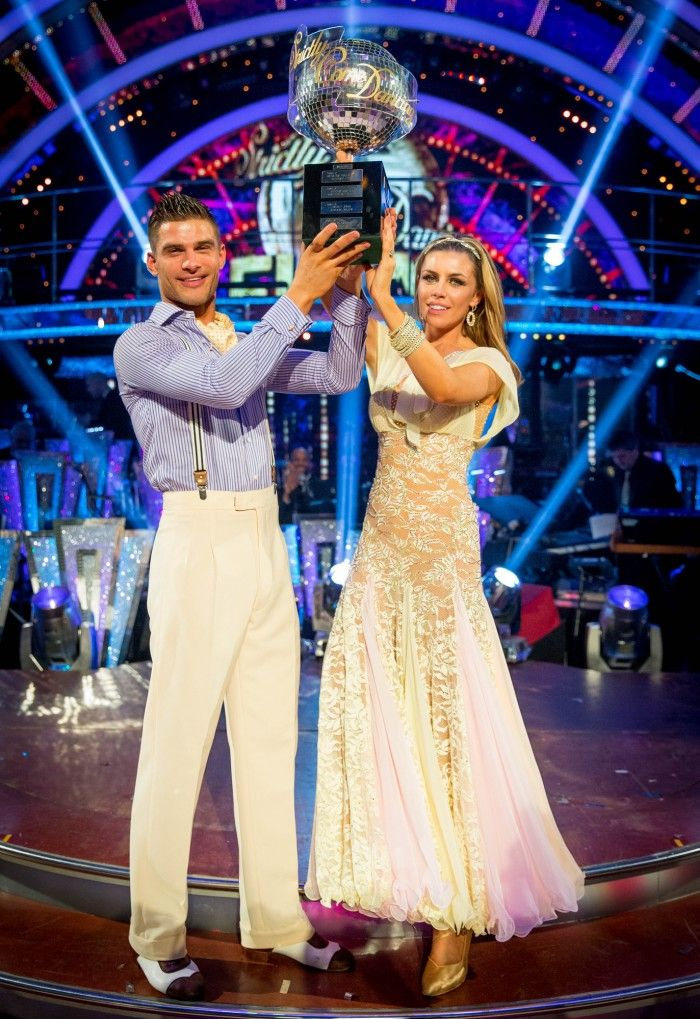 Aljaz Skorjanec and Abbey Clancy - The Winners of Strictly Come Dancing 2013