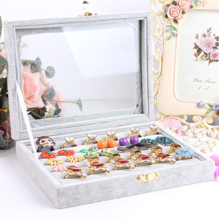 The 25 best Earring jewelry box ideas on Pinterest Double sided