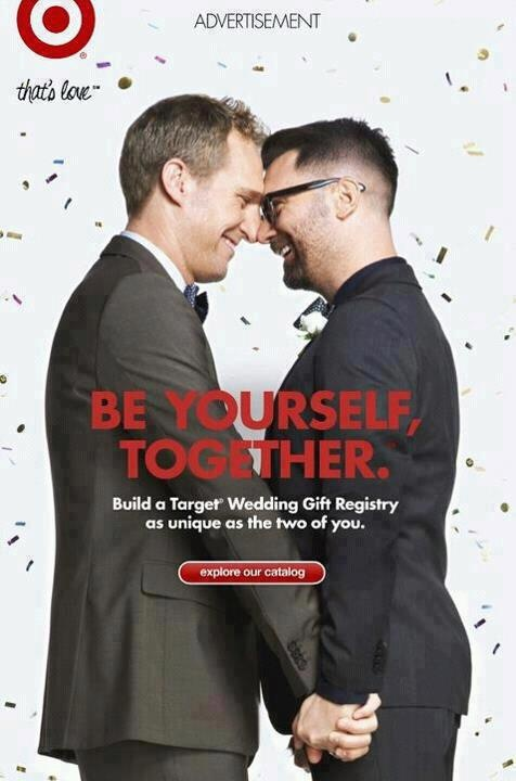 #Proud to shop at Target #gay #love #marriage