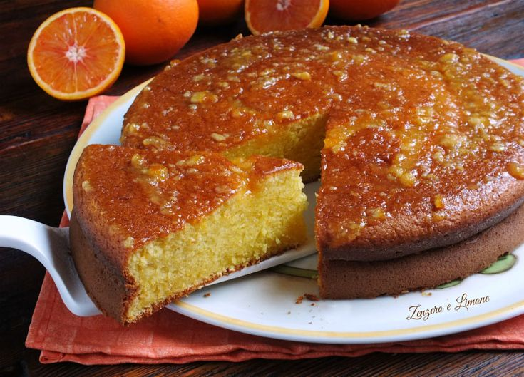Pan+d'arancio+-+ricetta+con+arancia+frullata