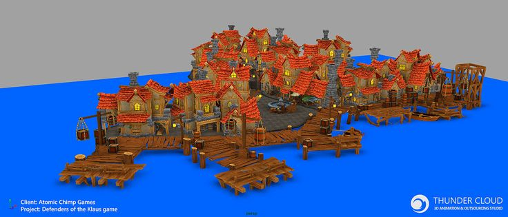 DOK – Pirate village | Thunder Cloud Studio