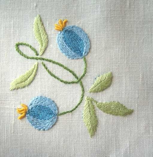 Pleasure embroidery: shows arteinorto