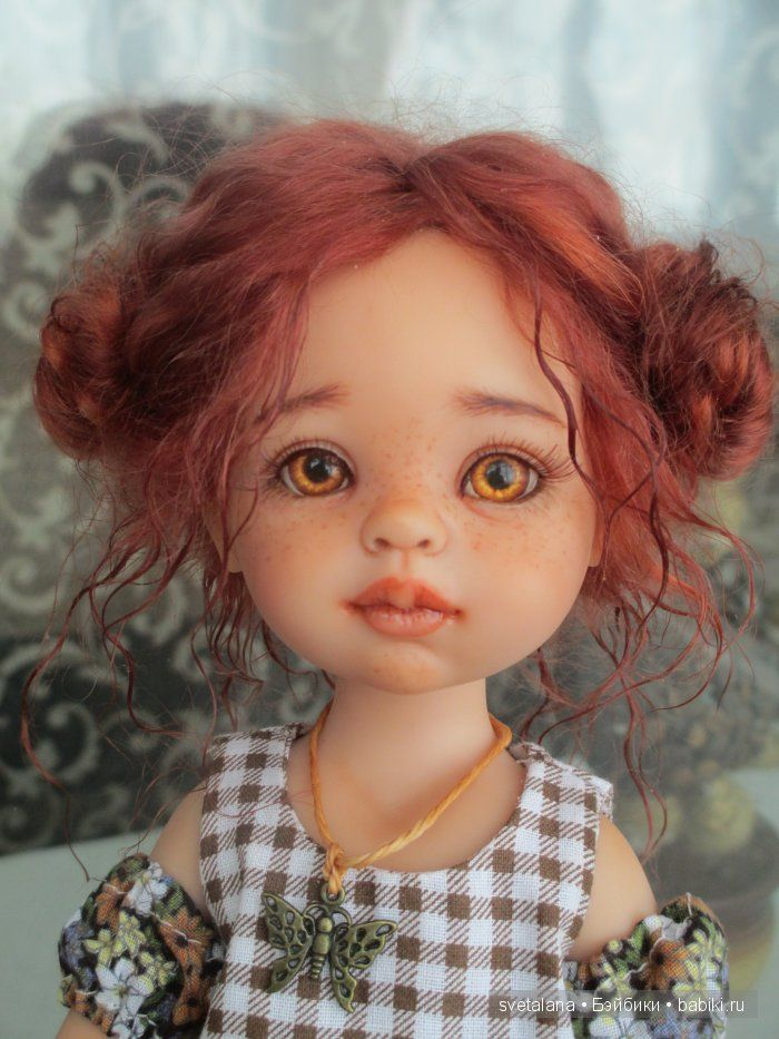 Kristinka. OOAK Paola Reina / Making dolls with their own hands, OOAK / Beybiki. Dolls photo. Clothing for dolls