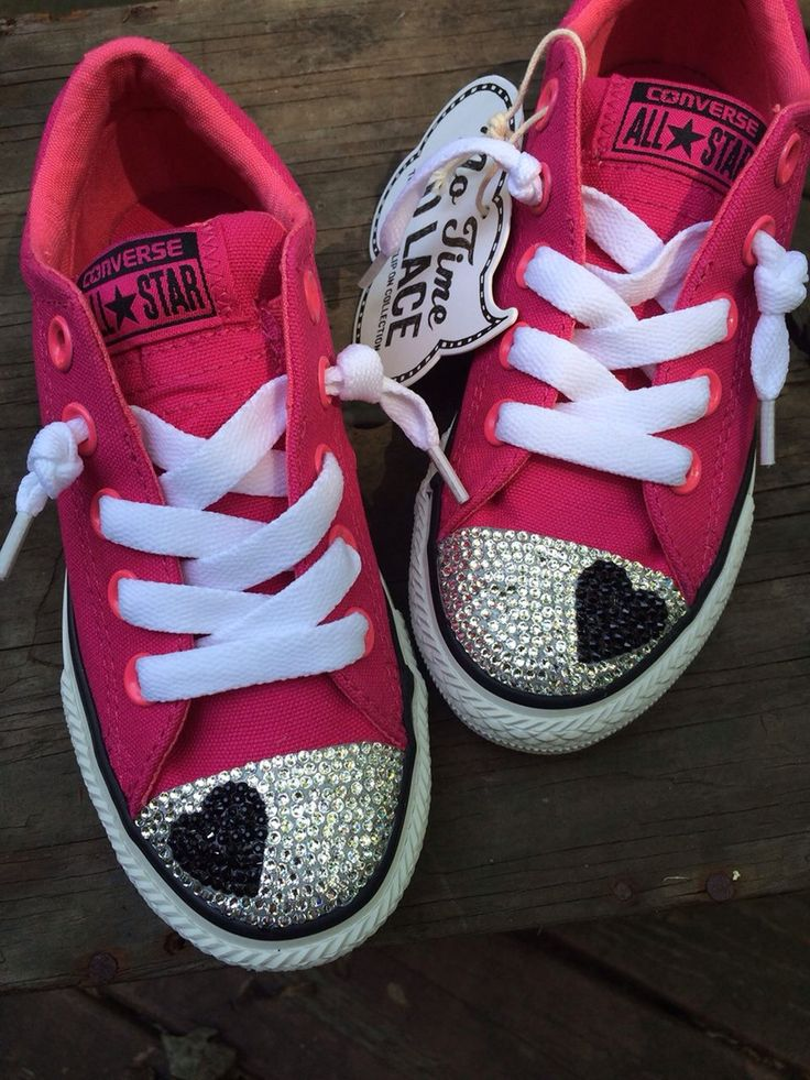 https://m.facebook.com/easypzcreations?_rdr Bedazzled Converse