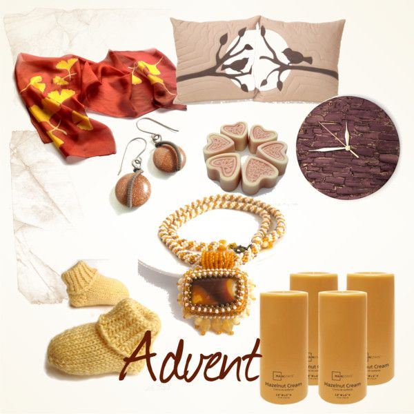 """Advent"" by hajnalka-szabone-csiby on Polyvore"