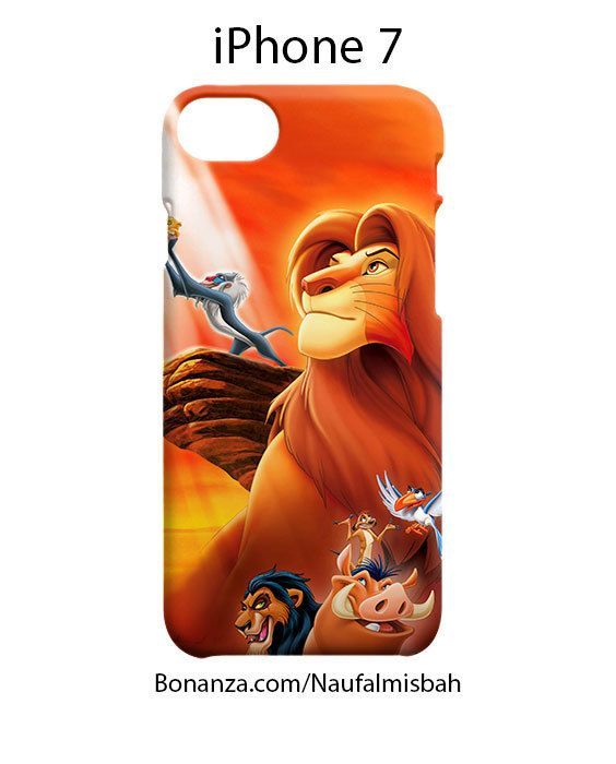Lion King iPhone 7 Case Cover Wrap Around