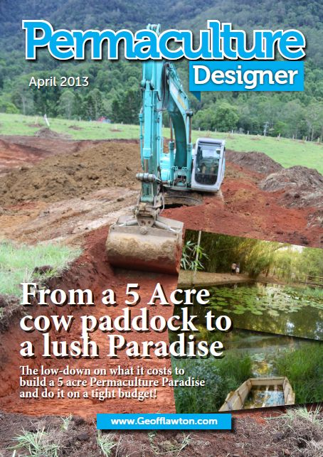 Geoff Lawton's Designing 5 acre property into paradise video