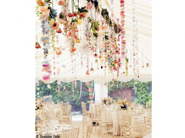 Plafond de fleurs
