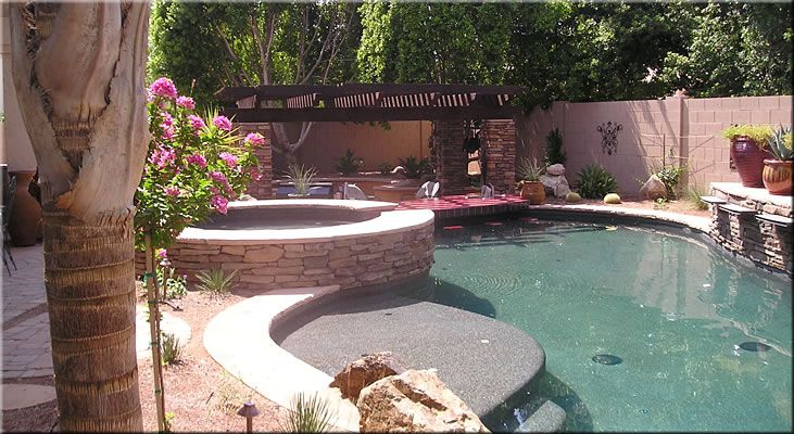 44 best images about backyard redesign ideas on pinterest for Pool design with swim up bar