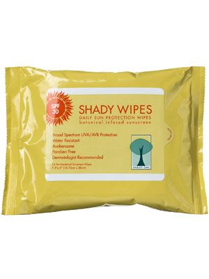 Shady Day Daily Sun Protection Wipes SPF 30