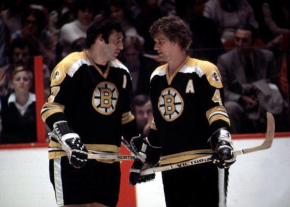 Phil Esposito & Bobby Orr - Boston Bruins