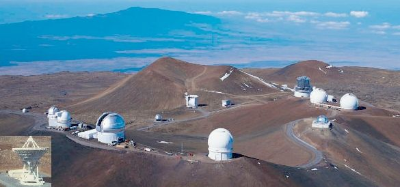 You can travel to top of Mauna Kea to see the observatories that study the universe, 13000 feet above see level, cold as stone - also near Waikoloa village