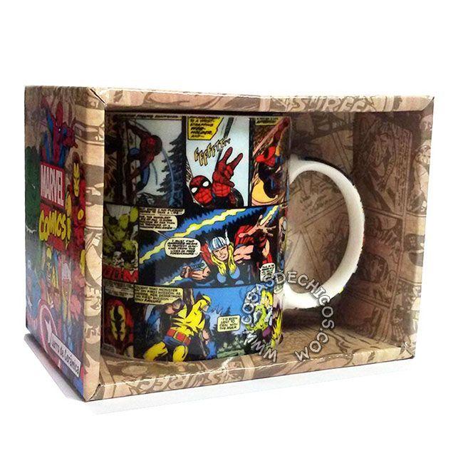 Nueva #Taza de #Cerámica  #Avengers #Vengadores #Comics Licencia #Oficial #Marvel.  Con dibujo estampado. Presentación: Caja decorada. Importador oficial: #Cresko  #CosasDeChicos