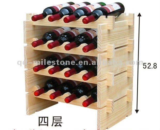 Une colonne Standard porte - bouteille de vin cave à vin rack - Code Produit : 448494680 - m.french.alibaba.com