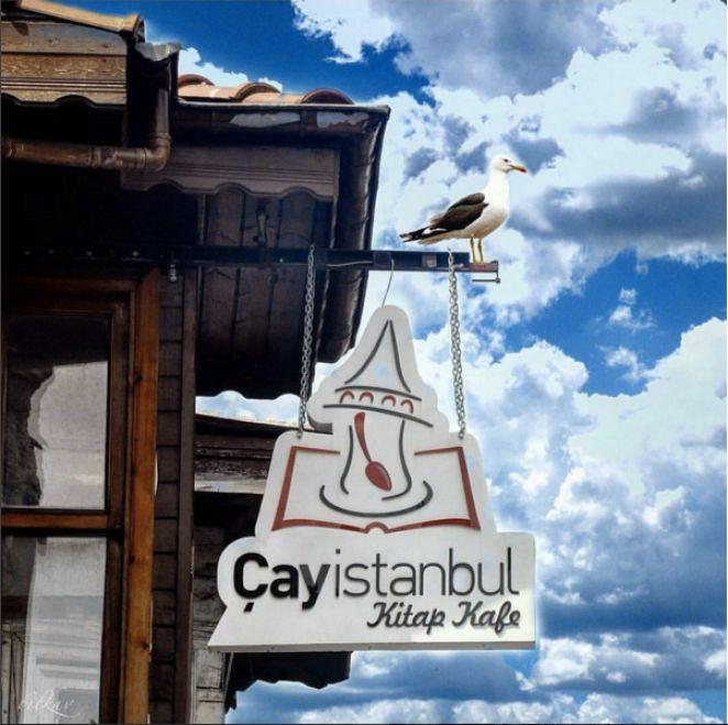 Çayİstanbul Kitap Kafe