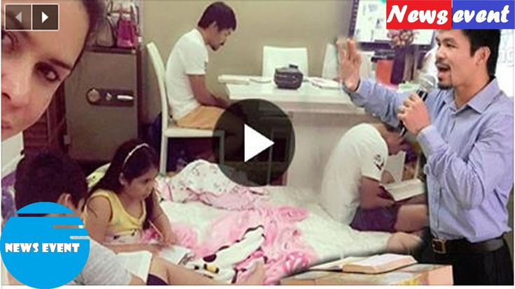 Senator Pacquiao And His Family Reading The Bible Goes Viral  Check This...