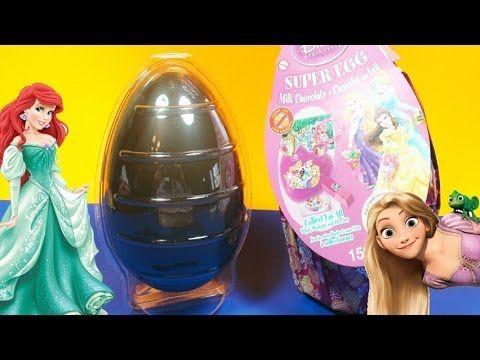 ★Surprise Eggs Disney Princess Limited Edition Kinder Ariel Cinderella Super Kinder Surprise Large!★  Surprise Eggs Unboxing, featuring the latest Disney Princess edition! Lots Of Surprises With The Famous Kinder Surprise!