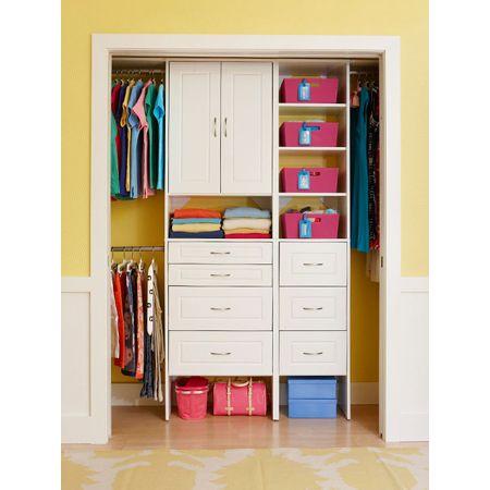 Closet Organizing Ideas - The Cottage Market