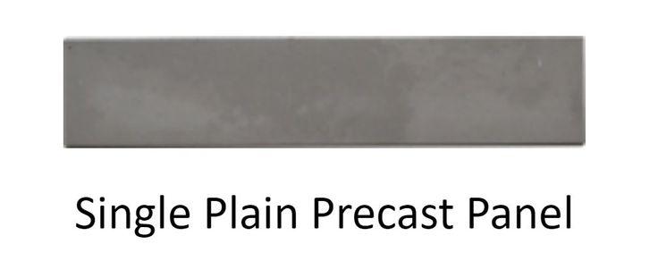 Precast Walling Alberton with Taller Waller Single plain precast panel