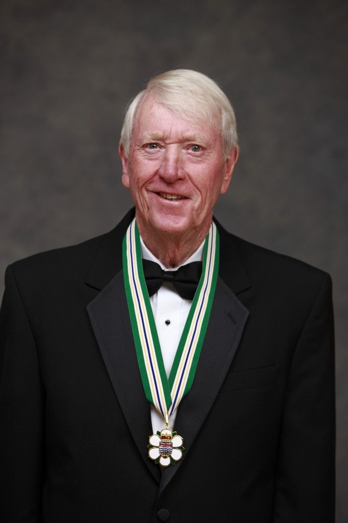 Jim Robson - Voice of Vancouver Canucks for 24 years  - awarded Order of British Columbia.    Mr. Robson has had a 47 year broadcasting career that began in Port Alberni at the age of 17, describing baseball, football, basketball, lacrosse, track and field, golf and – of course – hockey. He broadcast more than 2,000 National Hockey League games, connecting B.C. residents with their beloved NHL team.
