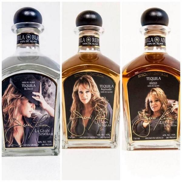 Jenni Rivera La Gran Señora Tequila  #Tequila  #NewYears #Drinks