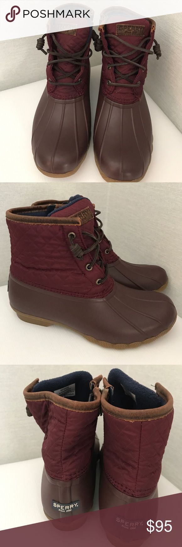 Sperry Shearwater Duck Weather Boot New never wore, no box no trades Sperry Top-Sider Shoes Winter & Rain Boots
