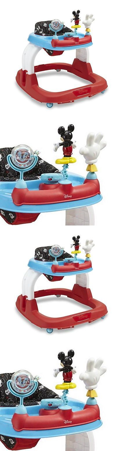 Walkers 134282: New Disney Mickey Mouse Baby Walker Height Adjustable Baby Kid Toddler Infant -> BUY IT NOW ONLY: $63.35 on eBay!