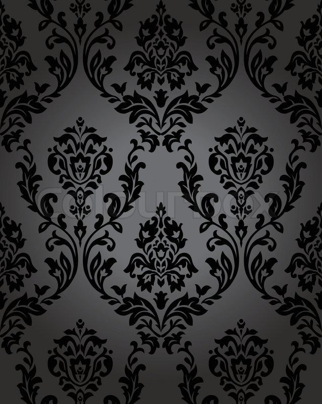Stock Vector Of Pattern Gothic Floral Backgrounds